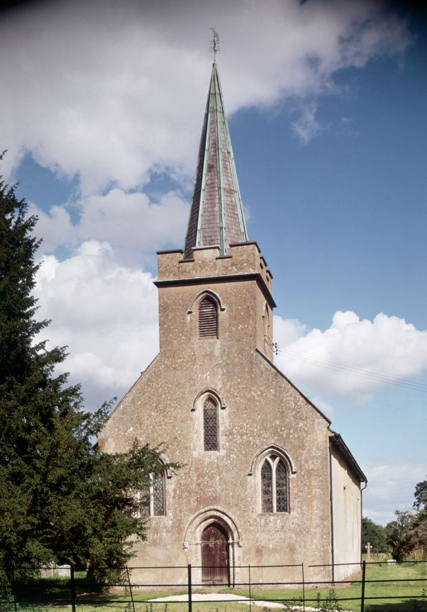 Steventon Church, where Jane Austen's father was rector. Photograph: Angelo Hornak/Corbis via Getty Images