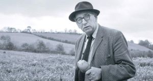 Some of of Ireland's finest writers and poets will gather to pay tribute to Kavanagh on the 50th anniversary of the poet's death. Photograph courtesy of the Wiltshire Collection/National Library of Ireland