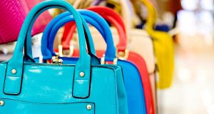 Leather goods are among the main counterfeit items seized by European customs authorities. Photograph: iStock