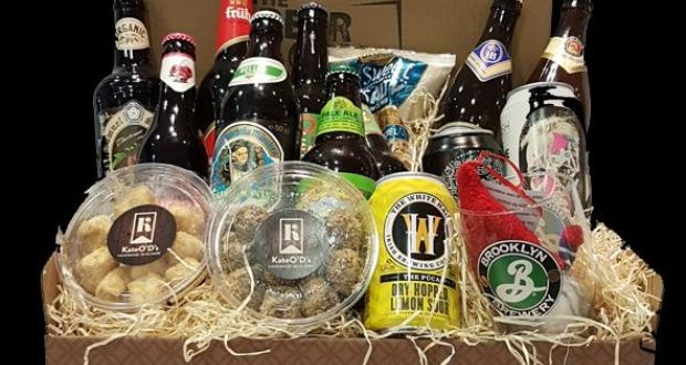 The Beer Club's beer hampers look particularly good and come in small (€49.99)