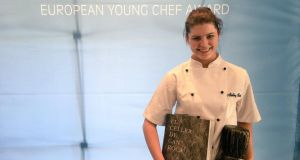 This is Irish food: Aisling Rock, European Young Chef 2017, of Galway-Mayo Institute of Technology