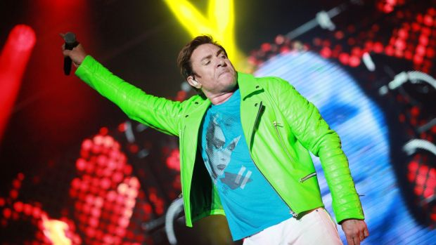 Keeping it Rio: Simon Le Bon of Duran Duran at Electric Picnic. Photograph: Debbie Hickey/Getty Images