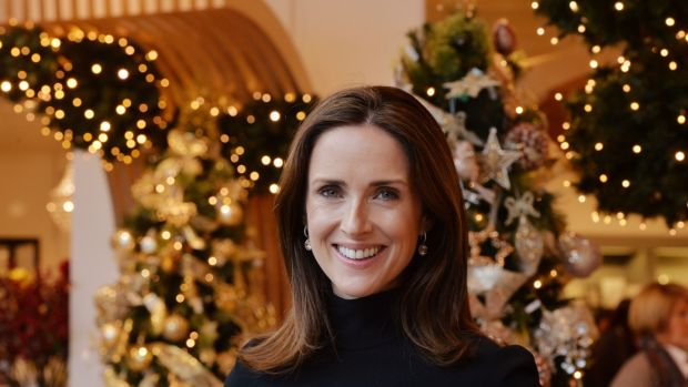 Maia Dunphy: a new Newbridge Silverware bauble every year. Photograph: Alan Betson