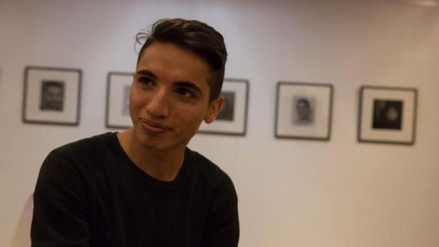 Mustafa, a Syrian teenager two days shy of his 18th birthday, suspects the German authorities have put off confirming his refugee status so he won't apply for his family to join him in Stuttgart. Photograph: Sally Hayden