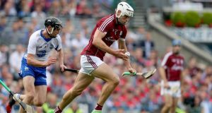 Gearóid McInerney sorted the long-standing and confounding problem for Galway at centre-back last season. Photograph: Tommy Dickson/Inpho