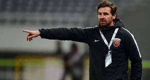 Andre Villas Boas has quit as Shanghai manager and will take part in the Dakar Rally. Photo: Getty Images
