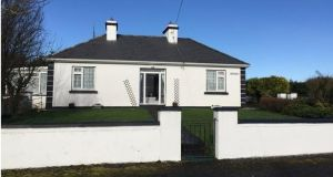 REA Seamus Carthy is seeking €175,000 for this traditional-style four-bedroom house with outbuildings and 0.7 acres of land in Castleplunkett, Co Roscommon.