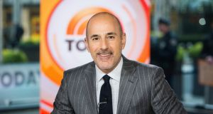"Matt Lauer on the set of the ""Today"" show in New York. NBC News fired the longtime host for ""inappropriate sexual behaviour."" Photograph: Nathan Congleton/NBC via AP"
