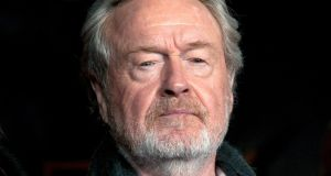 "Film director Ridley Scott: ""You can't tolerate any kind of behaviour like that.""  Photograph: Hannah McKay/EPA"