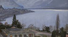 'Evening, Montreux', by Sir John Lavery, sold for €90,000