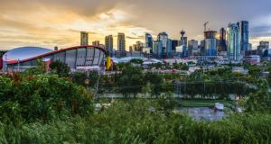 Calgary in Alberta, one of a number of stops on a bucket list tour of Canada