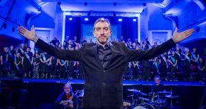 Sing when your winning: conductor David Brophy
