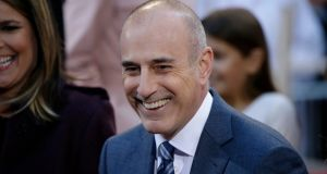 "Former NBC News host  Matt Lauer: ""To the people I have hurt, I am truly sorry."" Photograph: Peter Foley/EPA"
