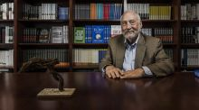 "Joseph Stiglitz, the Nobel Prize-winning economist: ""People are seeing globalisation as a venue by which rich corporations like Apple and Google can effectively escape taxation while hard-working citizens in France or Germany continue to pay high taxes."" Photograph: Sasha Maslov/New York Times"