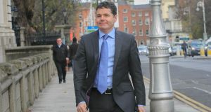 "Minister for Finance Paschal Donohoe: ""As to whether I expect the numbers to grow, the answer is 'Yes, I do'."" Photograph: Gareth Chaney Collins"