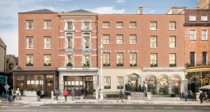 An architect's representation of the proposed redevelopment of the Royal Irish Automobile Club, which is expected to cost €30 million-€35 million.