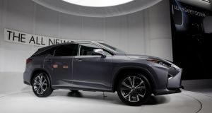 The new seven-seat Lexus RX - coming to Ireland next year