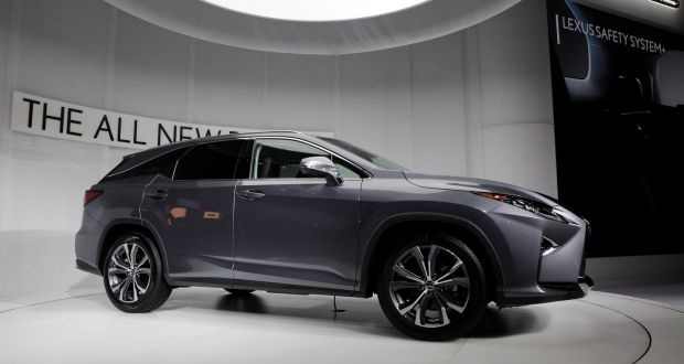 Lexus Launches First Seven Seat Rx In La As Bmw Confirms Electric