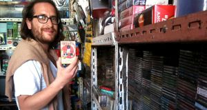 Brian Shimkovitz of the Awesome Tapes From Africa record label says the transition from rooting in crates in Chicago for cassette tapes to browsing market stalls in Accra, Ghana,  was perfectly natural.