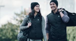 The clothing range has a printable heating technology called Flexwarm built in, which is a flexible heating element that can be layered directly on to fabric.
