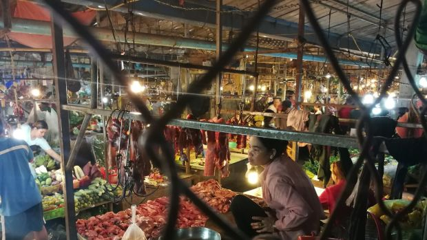 A food market in Phnom Penh. Photograph: Nevenka Lukin