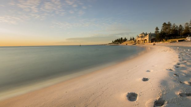 Sunset at Cottesloe Beach in Perth, Western Australia. File photograph: Getty Images