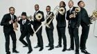 Hypnotic Brass Ensemble play a special matinee at the Sugar Club in Dublin, aimed at young jazz fans