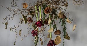 The raw ingredients that Hanna Heubach of Hanako uses in this seasonal piece are the kind that you might find growing in the garden or could forage for in local hedgerows or woodlands.