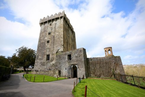 View of tower house from south. Blarney Castle, County Cork