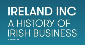 "Ian Hyland said the near-600 page book is ""the first volume . . . of a history and chronology of the entire Irish economy"" that he intends to publish."