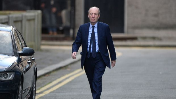 Minister for Sport Shane Ross: That's just not cricket. Photograph: Dara Mac Dónaill