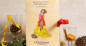 The L'Occitane advent calendar -  'I'm in love!' says Marian Keyes