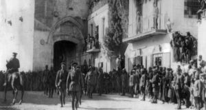 A hundred years ago this week, Gen Edmund Allenby of the Egyptian Expeditionary Force entered the captured city of Jerusalem