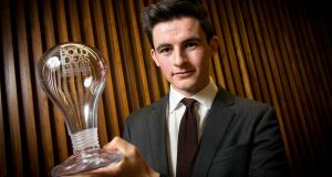 Conor Leavy took home the top prize in the Bold Ideas competition.