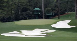 A general view of the 10th hole at Augusta National before the 2017 US Masters tournament. Photo: Brian Spurlock/Icon Sportswire via Getty Images