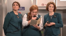 Saturday Night Live's take on an Aer Lingus flight