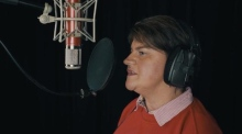 Arlene Foster leads Northern Irish 'C-listers' in charity Christmas single
