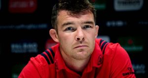 "Peter O'Mahony: ""It's professional sport, it's a short career, and as I said hopefully it will be done by the New Year one way or the other."" Photograph: Bryan Keane/Inpho"