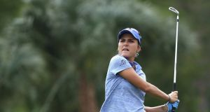 Lexi Thompson will again play in this week's Shark Shootout. Photograph: Sam Greenwood/Getty Images
