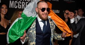Conor McGregor had one of the most retweeted tweets of the year. Photograph: David Becker/Getty Images for Wynn Nightlife