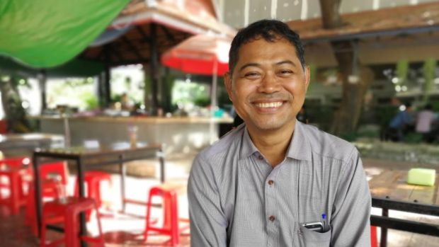 Cambodian media: Van Roeun, former reporter and editor for the Cambodia Daily. Photograph: Nevenka Lukin
