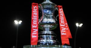 The draw for the Emirates FA Cup third round was made on Monday evening. Photograph: Nathan Stirk/Getty Images