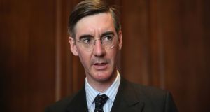 "Jacob Rees-Mogg: ""We cannot align the regulation of one part of the United Kingdom with the European Union."" Photograph: Dan Kitwood/Getty Images"