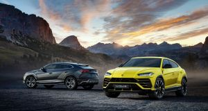 Lambo presents first SUV but only with technical difficulties