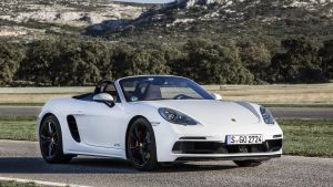 The Porsche Boxster GTS's acceleration is fantastic: 100km/h from standing start in 4.6secs