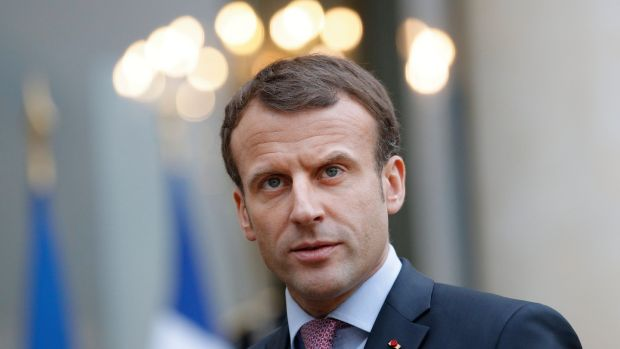 "In a phone call with the US president, Emmanuel Macron ""expressed his concern with the possibility that the United States might unilaterally recognise Jerusalem as capital of the state of Israel"". Photograph: EPA"