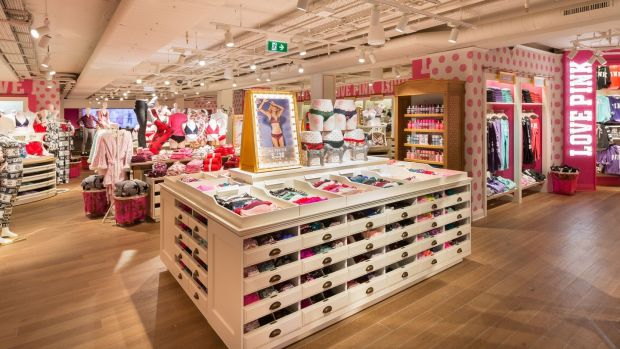 Brief encounter: the new Victoria's Secret store on Grafton Street