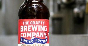 In Lidl, the Crafty Brewing Company's American Style Pale Wheat Ale is a real favourite