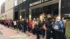 Protest at Victoria's Secret as 500 queue for Dublin opening