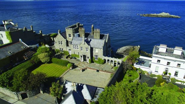 Inniscorrig, on Dalkey's Coliemore Road, sold for just below €8 million